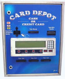 AC8003 Cash or Credit Card