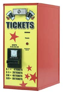 AC111 Ticket Dispenser-Front Load